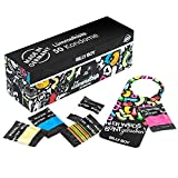 Billy Boy Lümmelkiste Kondome Mix-Sortiment, Farbige, Extra Feucht und Perlgenoppte, 50er Pack