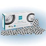 FAIR SQUARED Ultra Thin Kondome 100 Box 52 mm – Vegane Kondome 100er aus fair gehandeltem Naturkautschuk – Kondom gefühlsecht hauchzart condoms