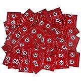 100 rote ON) Marken Kondome mit Erdbeer Aroma